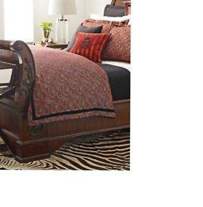 14pc Set Ralph Lauren Bleecker Street Paisley Queen Duvet Comforter Cover New