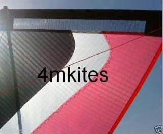 New HJ 7 0 Breeze Wind Kite Dyneema Flying Line Handles Quad Kite 4 Line Kite