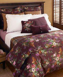 Ralph Lauren Brittany Purple Floral Queen Comforter