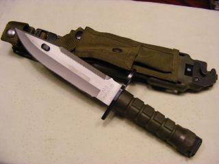 Phrobis III M9 Bayonet USGI Buck Knives Made Gulf War 4 Line
