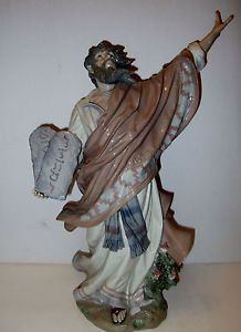 Lladro Moses and The Ten Commandments Figurine 01011811 Retired Collection