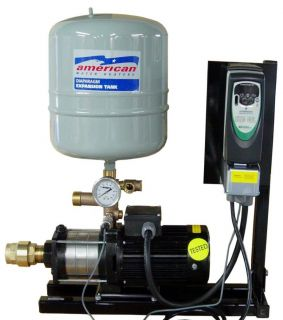 Water Pressure Booster Pump System 30GPM with A 40PSI Overboost TW1000 30W 40