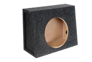 "New Atrend 12"" Single Truck Shallow Subwoofer Enclosure Box E12ST"