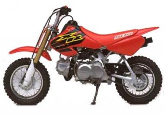 4 Stroke 50cc Honda XR50 Pit Bike Bazooka Pipe Honda Dirt Bike