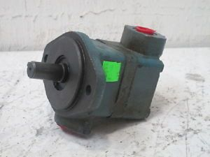 "Vickers Hydraulic Pump 3 4"" Shaft Diameter 3 8"" 1"" NPT Ports"