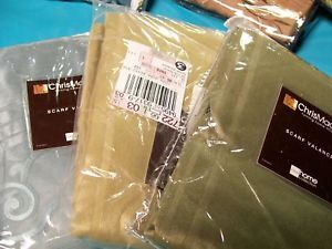 Chris Madden Corsica Sheer Drape Curtain Panel Assorted Colors Sizes