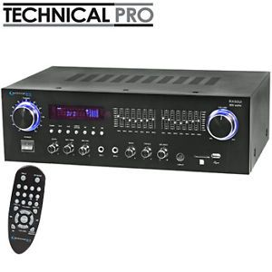 800 w Home Stereo Audio Digital Receiver Amplifier iPod Control USB SD Card