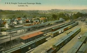 Pennsylvania Railroad Freight Yards and Passenger Sheds Latrobe PA