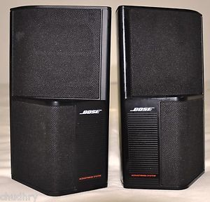 Bose Acoustimass Surround Sound Speakers Model SE 5