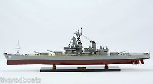 "USS Wisconsin BB 64 Battle SHIP 40"" Handcrated Wooden SHIP Model New"