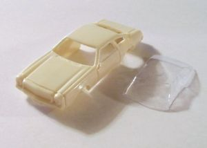 Custom Resin '73 Chevy Laguna T Jet HO Slot Car Body Plain