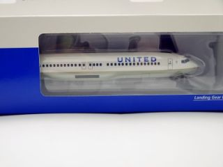 Hogan Wings United Airline Boeing 737 800W 1 200 New Color with Gears Stand 4487