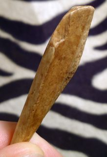 Native American Indian Bone Tool Artifact Carved