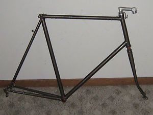 1978 Raleigh Super Course Frame and Fork 65cm Serial Number WM8003188
