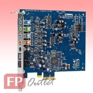 Creative Sound Blaster x Fi Xtreme 3D EAX Game 7 1 Audio PCI Express PCIe Card 0054651146006