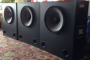 "JBL 3678 Low Frequency Subwoofers JBL 2226H 15"" Woofer Crossover in Cabinet"