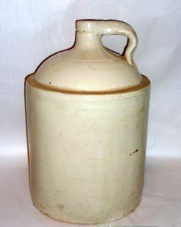 "Antique 18"" Tall 5 Gallon Stoneware Jug Red Wing Minnesota A"