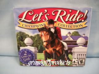 Let's Ride Champion Collection Horse Riding PC Game New