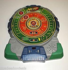 Nerf N Strike Tech Target Electronic Talking Scoreboard Dart Board Target Games