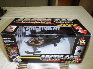RARE 2005 Joker Arctic Cat Snowmobile Diecast Toy Artic Model 1 1000
