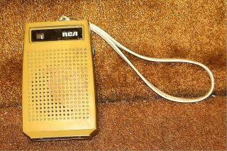 RCA Transistor Am 9V Pocket Radio Vintage Retro