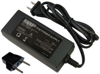 HQRP 24V Poe Injector Power Supply Fits IP Camera Wireless Network Access Point