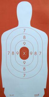 100 Silhouette Shooting Targets Pistol Targets Police Targets Rifle Target