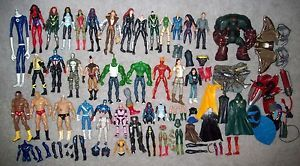 "Marvel Legends DCUC WWE 6"" Scale Parts Accessories Loose Lot Custom Fodder 3"