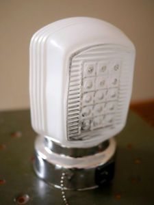 New Vintage Art Deco Glass Lamp Light Fixture Wall Mount Sconce Bathroom Vanity