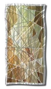 Abstract Metal Wall Art Modern Home Decor Unique Contemporary Wall Sculpture