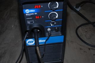 Tested Beautiful Miller Millermatic 251 MIG Welder Single Phase Inv 515