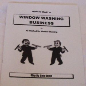 Window Washing Business Glass Window Cleaning Squeegee Start Up Business
