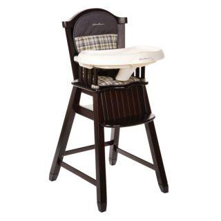 Eddie Bauer Classic Wood Baby Child Toddler High Chair Colfax HC091APH