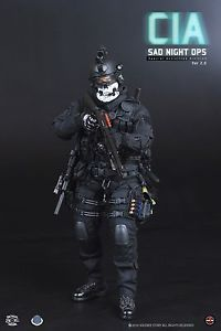 1 6 CIA Sad Night Ops FBI Seal SWAT SDU Action Figure Hot Toys Soldier Navy