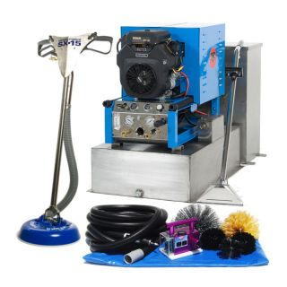 Truck Mount Carpet Air Duct Tile Cleaning Machine Cleaner Equipment Package