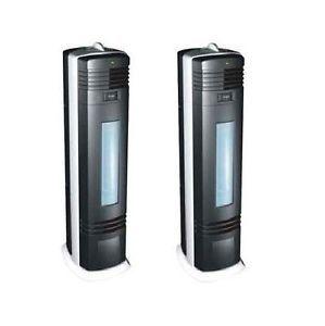 2 Air Purifiers Ionic Ionizer Machine Ionizer Ozone Cleaner Freshener Ions VG7