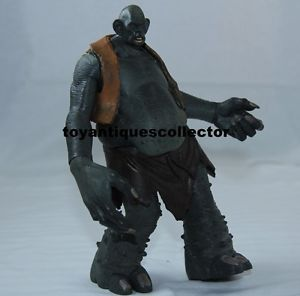 """Harry Potter """"Mountain"""" Troll Deluxe Creatures Action Figure Mattel 2001 Used"""