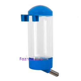 Blue Pet Mice Rat Gerbil Hamster Cage Hanging Water Bottle Feeder Waterer D184