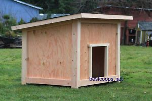 Large Dog House Plan 2