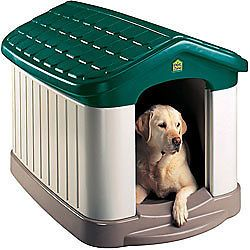 Tuff N Rugged Insulated Dog House Large Outdoor Backyard Porch Kennel New