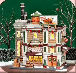 Coca Cola Bottling Company New Department Dept 56 Christmas in The City Village