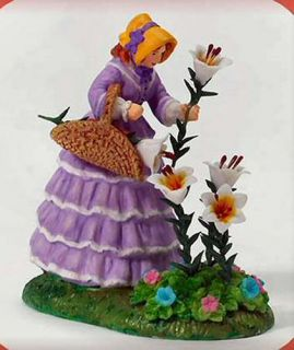A Basket Full of Blooms New Department Dept 56 Dickens Village D56 DV