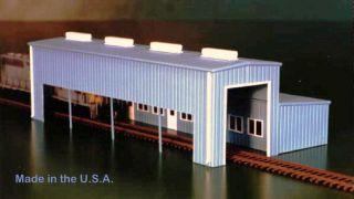 Atkinson Engine Facility 541 5007 HO Scale Kit