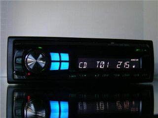 Alpine Car CD iPod MP3 WMA Player Stereo Receiver w Bass Engine Excellent