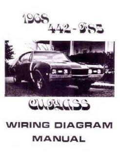 1968 Oldsmobile Cutlass Electrical Wiring Diagrams Schematics Book Mechanic