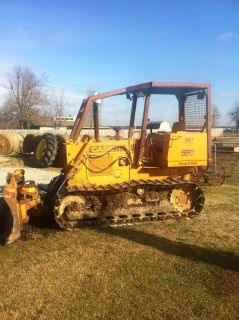 Case 550 Longtrack Bull Dozer 6 Way Blade Good Working Dozer Cumming Engine