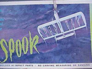 1963 Spook Dale Kirn's Stunt Combat Plane w Box Cox No 7400 Thimble Drome