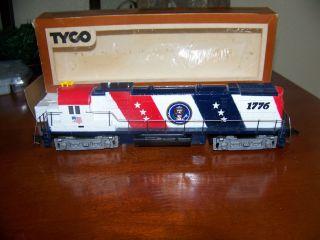 Vintage Tyco HO Spirit of '76 244 Diesel Alco Century Engine 430 NN 1776