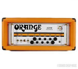 Orange Amplifiers Ad Series AD30HTC 30W Tube Guitar Amp Head B0408 889406651302
