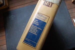 Cat Caterpillar 16H Motor Grader Service Manual Repair Shop Engine Overhaul Book